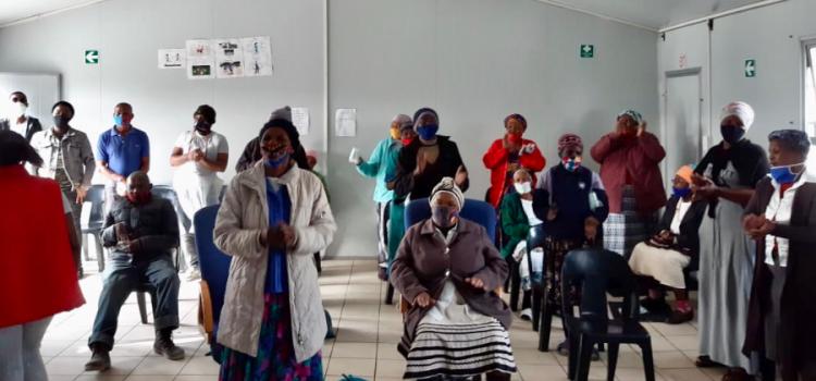 Celebrating National Women's Day in Samora Machel
